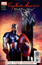 CAPTAIN AMERICA: WHAT PRICE GLORY (2003 Series) #4 Very Fine Comics Book