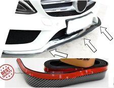SPOILER sotto paraurti anteriore mercedes CLA CLS CLK GL S CLC CARBON spoilerino