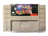 Tetris and Dr Mario Super Nintendo SNES Game - Tested Working - AUTHENTIC