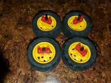 LEGO Technic 68.8 x 36 H Tires/Wheels yellow rims used