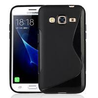 Accessorie Etui Coque TPU Silicone Gel S-Line pour Samsung Galaxy J3 Pro