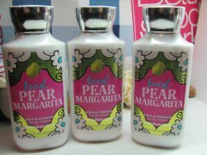 Bath and Body Works  3 ~ Iced Pear Margarita ~ Shea & Vitamin E Body Lotion