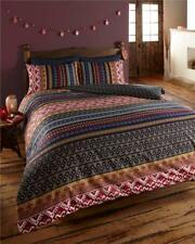 QUILT COVER BED SETS - Ethnic indian style bedding - multi print duvet sets