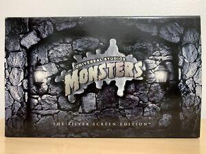 Universal Monsters Silver Screen 1st Edition Frankenstein / Mummy / Wolfman Set