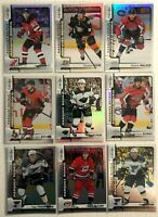 9 Card Lot 2017-18 Upper Deck O-Pee-Chee Update Rainbow Foil Marquee Rookies