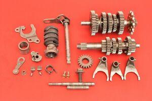 1997 1998 1999 Yamaha YZ125 YZ 125 Complete Transmission Tranny Gears Set Forks