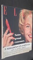 Revista Elle N º 565 Revista Semanal Octubre 1956 ABE