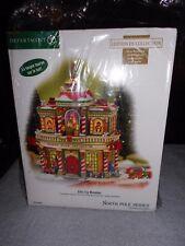 Dept 56 North Pole Village Elfin Toy Museum Nib *Still Sealed*
