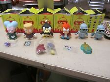Lot of 6 Futurama Kidrobot Figures with accessories in awesome condition !!!