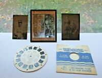 Antique Vintage Photo Pictures Tintype, Glass Photo and View Master Reel