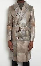$2100 NWT Authentic MAISON MARTIN MARGIELA Trench Coat Rainwear IT-54 US-44