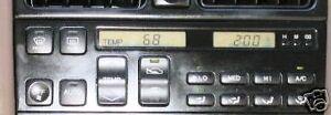 """*NEW LCD LEXUS LS400 CLIMATE CONTROL """"COMPLETE UNIT"""" HEATER REBUILT A/C HVAC"""