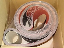 "10 new 3M Cubitron 963G 6"" x 132"" 60 Ceramic Coated Abrasive Sanding Belts 68168"