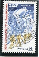 TIMBRE FRANCE OBLITERE N° 3331 CONQUETE L'ANAPURNA / Photo non contractuelle