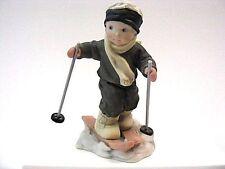 """Kim Anderson - """" I'm On My Way To You """" Boy Skier Figurine"""