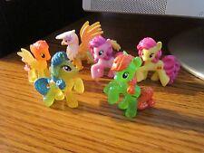 My Little Pony Minis Glitter Gilda, Lemon Hearts, Strawberry Sunrise LOT of 6