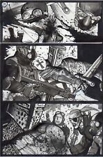 SIMON BISLEY Original Art Page Tower Chronicles