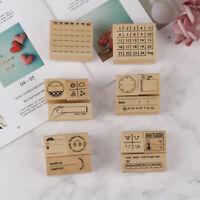 wood stamp for DIY scrap booking/photo album Decorative function stamp seal №s