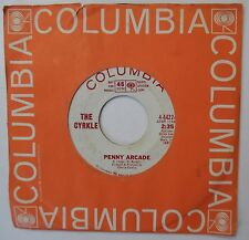 PENNY ARCADE 45 The Cyrkle / The Words COLUMBIA Promo 1967 Pop PSYCH   w122
