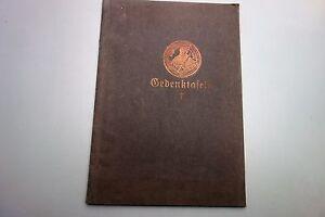 Die Gedenktafeln 1. WK Landesuniversität Jena Thüringen 1925 Soldaten Militaria