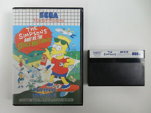 The Simpsons - Bart vs. the Space Mutants für Sega Master System - PAL - in OVP