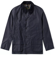 BARBOUR BRISTOL WAX JACKET // NAVY // XL // BRAND NEW with TAGS
