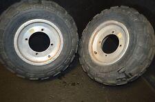 #723 2004 Polaris predator 500  front rim & tires 21x7-10