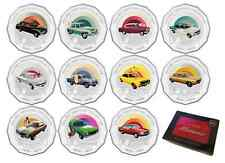 2016 SET 11 50c HOLDEN HERITAGE COINS MONARO TORANA FJ + FREE RED TIN OF CARDS