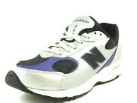 New Balance KJ4980SPG Running Boys Shoes Leather Silver Vintage Size 5.5 Rare