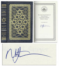 Easton Press Signed ''Flash Forward'' by Robert J. Sawyer