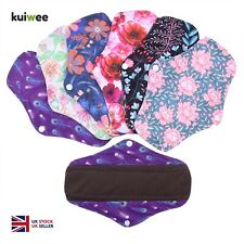 Sanitary Pads Reusable Washable Menstrual Women Cloth Medium Eco Maternity Pad