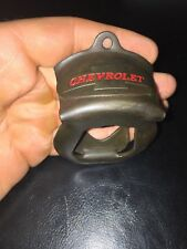 Chevrolet Solid Metal Bottle Opener Antique Style Patina Finish Gorgeous G/Vg