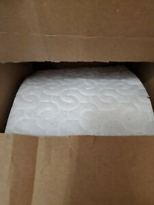 """New 3M 19152 Doodleduster Cloth 7"""" x 13.8"""" x 287.5' Perforated Roll White"""