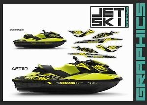 SEADOO RXP RXPX 260 300 for 2012-2018 decals stickers set graphics kit wrap