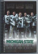 2013-14 Michigan State Spartans Hockey Record Book Media Guide