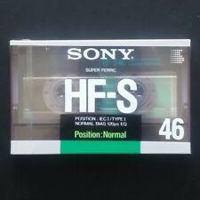 Audio Cassetta Sony HF-S 46 - NUOVA Vergine Sigillata - Tapes Kassetten