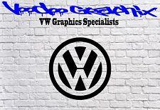 "Volkswagen 17"" VW logo Stickers Transporter T6 T5 T4 Campervan Bonnet Decal"