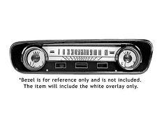 Mustang White Face Gauge Kit 1964 - 1965 - Scott Drake