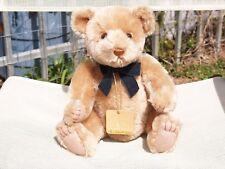 """GUND- MOHAIR JEREMY BEARKIN TEDDY BEAR- #9655- 12"""" - 1996- VERY NICE- ALL TAGS"""