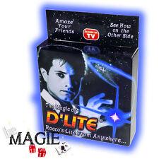 D'lite BLEU (1 seul D'lite) - Faux pouce Lumineux - Ghost light - Tour de Magie