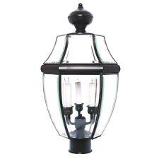 Maxim South Park 3-Light Outdoor Pole/Post Lantern Black - 6098CLBK