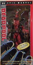 "DEADPOOL Super Poseable 1/4 SCALE Neca MARVEL Ultimate EDITION 2016 18"" INCH"