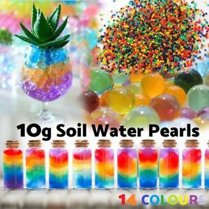 10g Crystal Soil Water Pearl Jelly Ball Bead Plant Vase Party Wedding Decoration