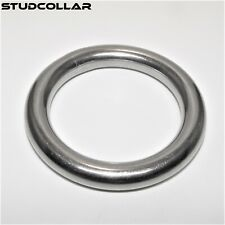 STUDCOLLAR-SOLID-STAINLESS-STEEL-MEGA-PENIS-RINGS - 50mm And 80mm ID - 10mm Deep
