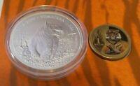 2020 SUMATRAN TIGER  Silver $1 coin & FREE PNC.