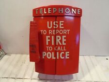 Vintage Fire Emergency Call Box - Westinghouse