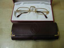 Montatura occhiali CARTIER placcata oro 24 K