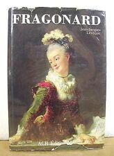La vie et l'oeuvre de Jean-Honore Fragonard texte de Jean-Jacques Leveque HB/DJ