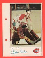 1971-72 Toronto Sun NHL Action Player Photos Rogie Vachon nrmnt-mt