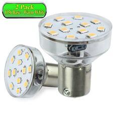 2 Pack Leisure Led Spotlight Bulb Bayonet Rv 1156 1141 1383 2.1 Watt warm White